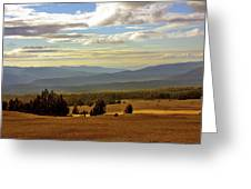 Oregon - Land of the setting sun Greeting Card by Christine Till