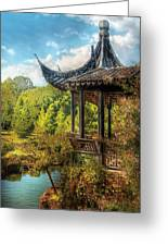 Orient - From A Chinese Fairytale Greeting Card by Mike Savad