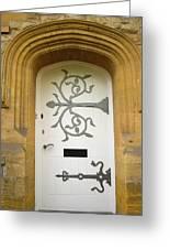 Ornate Door 1 Greeting Card by Douglas Barnett