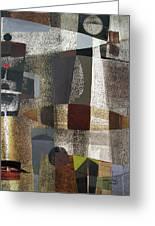 Os1957bo016 Abstract Landscape Of Potosi Bolivia 20.3 X 28.9 Greeting Card by Alfredo Da Silva