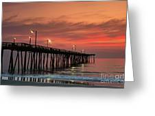 Outer Banks Sunrise Greeting Card by John Greim