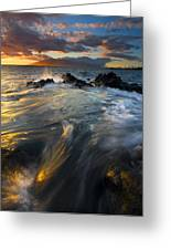 Overflow Greeting Card by Mike  Dawson