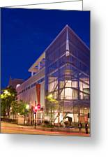 Overture Center On State Street In Madison Wisconsin Greeting Card by Michael Dykstra