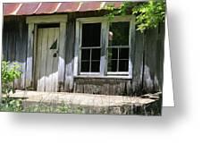 Ozark Homestead Greeting Card by Marty Koch