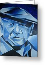 Pablo Picasso The Blue Period Greeting Card by Tracey Harrington-Simpson