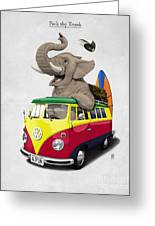 Pack The Trunk Greeting Card by Rob Snow