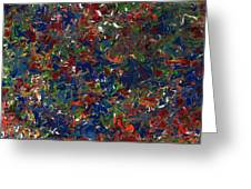 Paint number 1 Greeting Card by James W Johnson