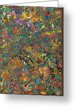 Paint Number 29 Greeting Card by James W Johnson