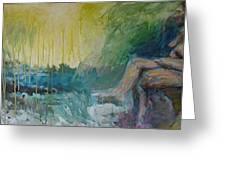 Painting3 Greeting Card by David Frantz