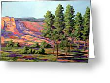 Palo Duro Cottonwood Greeting Card by Micheal Hammons
