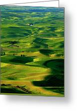 Palouse Morning Greeting Card by Mike  Dawson