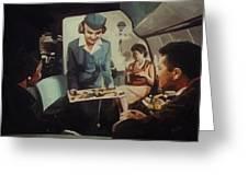 Pan American Airways Fa Greeting Card by Nop Briex