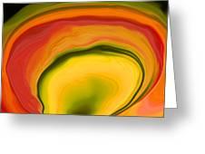 Papaya4 Greeting Card by Linnea Tober