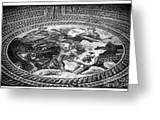 Paphos Mosaic Greeting Card by John Rizzuto