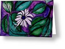 Paradise Flower Greeting Card by Marsha Heiken