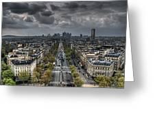 Paris No. 2 Greeting Card by Ryan Wyckoff