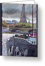 Paris Pont Alexandre IIi Greeting Card by Yuriy  Shevchuk