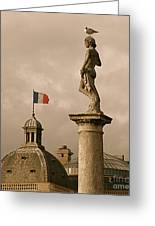 Paris Rooftops II Greeting Card by Louise Fahy