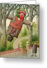 Parrots 01 Greeting Card by Kestutis Kasparavicius