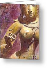 Parvati Greeting Card by Ann Radley