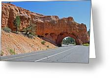 Passing Through Bryce Greeting Card by Kami McKeon