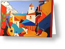 Passion For Life Greeting Card by Joe Gilronan