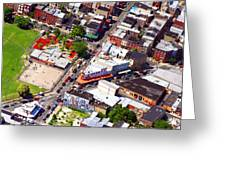 Pats King Of Steaks And Genos Steaks South Philadelphia 4542 Greeting Card by Duncan Pearson