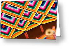 Patterns I Greeting Card by Irene Abdou