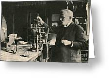 Paul Ehrlich, German Immunologist Greeting Card by Photo Researchers