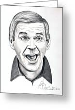 Paul Lynde Greeting Card by Murphy Elliott