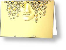 Pearls of Wisdom Greeting Card by Paulo Zerbato