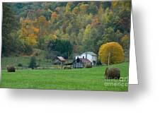 Pennsylvania Farm Greeting Card by Tony  Bazidlo