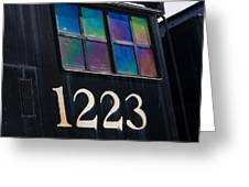 Pere Marquette Locomotive 1223 Greeting Card by Adam Romanowicz