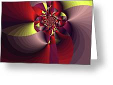 Perfectly Wrapped Greeting Card by Bonnie Bruno