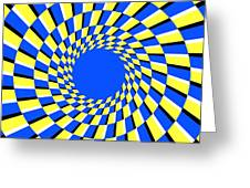 Peripheral Drift Illusion Greeting Card by SPL and Photo Researchers