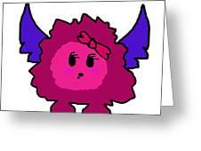 Petunia Blueberry Greeting Card by Jera Sky