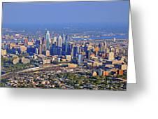 Philadelphia Aerial  Greeting Card by Duncan Pearson