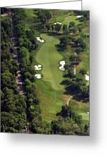 Philadelphia Cricket Club Militia Hill Golf Course 12th Hole Greeting Card by Duncan Pearson