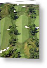Philadelphia Cricket Club Militia Hill Golf Course 14th Hole Greeting Card by Duncan Pearson