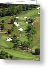 Philadelphia Cricket Club Militia Hill Golf Course 5th Hole Greeting Card by Duncan Pearson