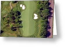 Philadelphia Cricket Club Militia Hill Golf Course 8th Hole Greeting Card by Duncan Pearson