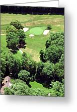 Philadelphia Cricket Club St Martins Golf Course 5th Hole 415 W Willow Grove Ave Phila Pa 19118 Greeting Card by Duncan Pearson