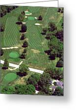 Philadelphia Cricket Club St Martins Golf Course 7th Hole 415 W Willow Grove Ave Phila Pa 19118 Greeting Card by Duncan Pearson