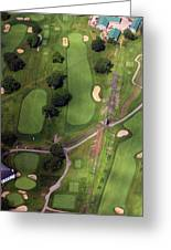 Philadelphia Cricket Club Wissahickon Golf Course 11th Hole Greeting Card by Duncan Pearson