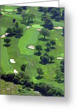 Philadelphia Cricket Club Wissahickon Golf Course 13th Hole Greeting Card by Duncan Pearson