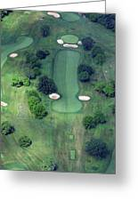 Philadelphia Cricket Club Wissahickon Golf Course 14th Hole Greeting Card by Duncan Pearson