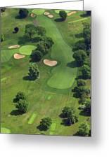 Philadelphia Cricket Club Wissahickon Golf Course 17th Hole Greeting Card by Duncan Pearson