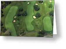 Philadelphia Cricket Club Wissahickon Golf Course 1st Hole Greeting Card by Duncan Pearson