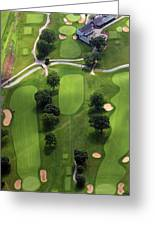 Philadelphia Cricket Club Wissahickon Golf Course 2nd Hole Greeting Card by Duncan Pearson