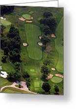 Philadelphia Cricket Club Wissahickon Golf Course 5th Hole Greeting Card by Duncan Pearson